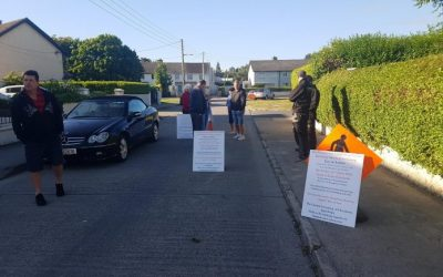 ROSEMOUNT RESIDENTS HOLD PROTEST OVER 'SERIOUS' HEALTH AND SAFETY CONCERNS